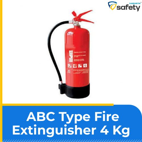 ABC Fire extinguishers are effective all types of fire like Class A, B and C types of fires as well as Electrical fires and also ABC Powder Type (Stored Pressure) Fire Extinguisher, Multipurpose uses i.e Home, Car, Kitchen, Office, school and many more Multipurpose Uses ABC Type fire extinguisher 4 Kg with 5 years Warranty. Clear Instruction Label and No Maintenance required ISI, ISO & CE Certified Product