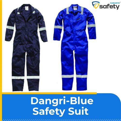Dangri-Blue Safety Suit