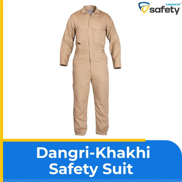 Dangri-Khaki Safety Suit