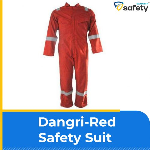 Dangri-Red Safety Suit
