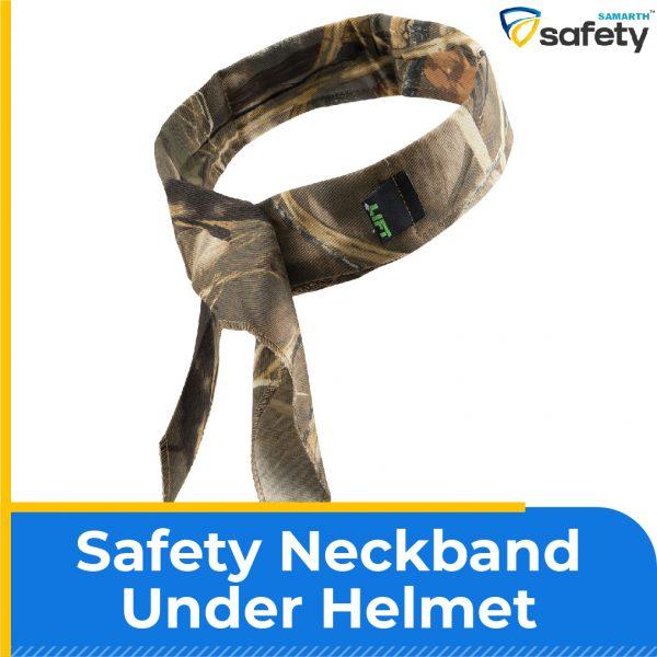 Safety Neckband Under Helmet