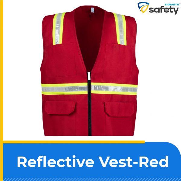 Reflective vest-Red